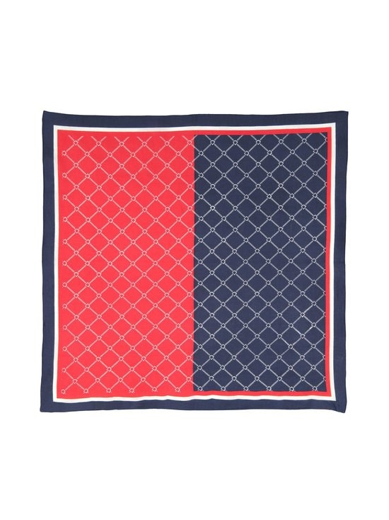 Lasessor - Melia-puuvillahuivi - 580 NAVY-WHITE-RED | Stockmann - photo 2