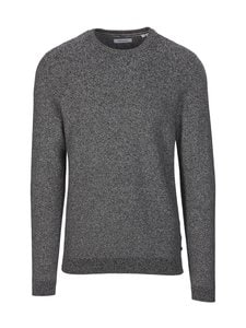 Jack & Jones - JjeAaron-puuvillaneule - BLACK DETAIL:W. JET STREAM | Stockmann