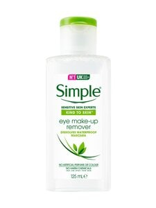 Simple - Eye Make-up Remover -silmämeikinpoistoaine 125 ml | Stockmann
