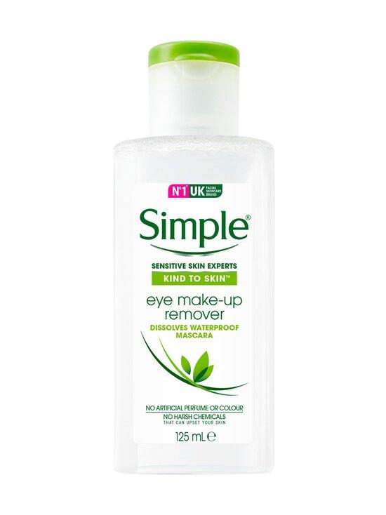 Simple - Eye Make-up Remover -silmämeikinpoistoaine 125 ml - NOCOL   Stockmann - photo 1