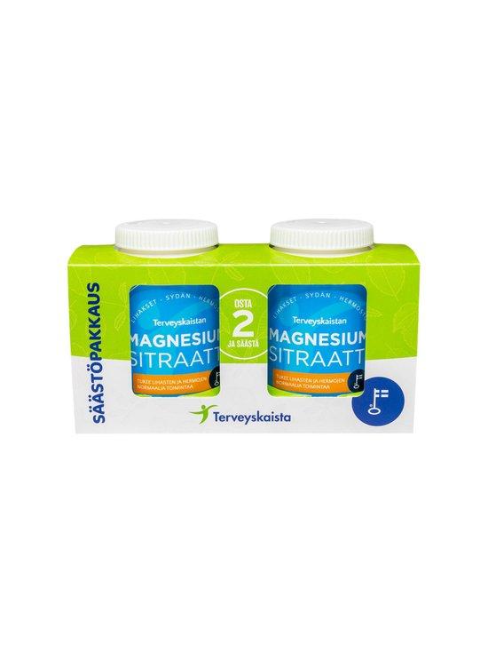 Terveyskaista - MagnesiumSitraatti 2 x 120 tabl, säästöpakkaus 264 g - NOCOL | Stockmann - photo 1