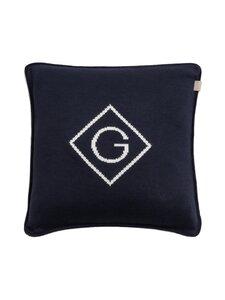 Gant Home - G Knit -tyynynpäällinen 50 x 50 cm - 410 MARINE | Stockmann