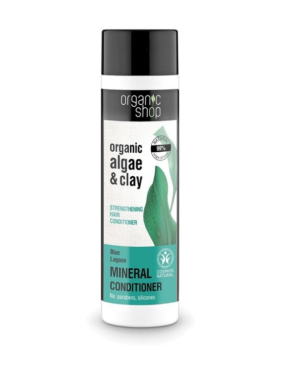 Organic Shop - Blue Lagoon Strengthening -hoitoaine 280 ml | Stockmann - photo 1