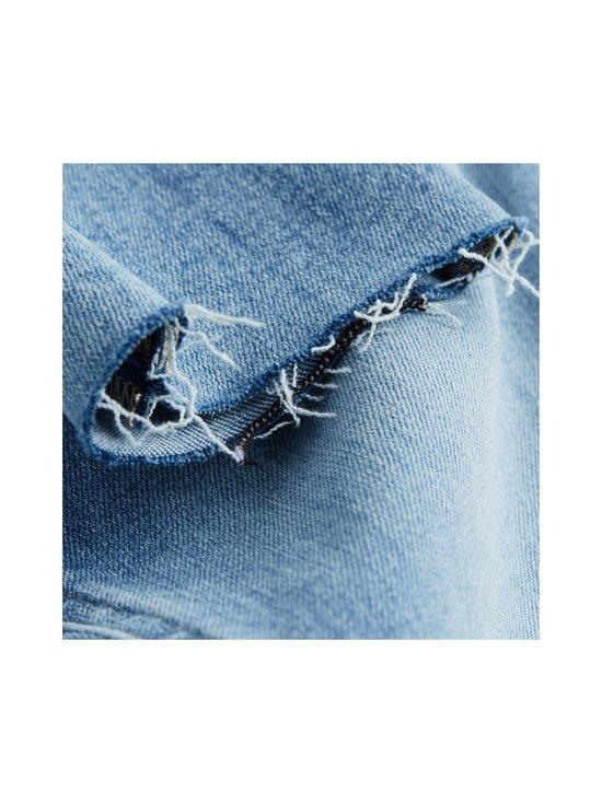Calvin Klein Jeans - High Rise Super Skinny Ankle -farkut - 1AA DA069 LIGHT BLUE DSTR CUT HEM | Stockmann - photo 5