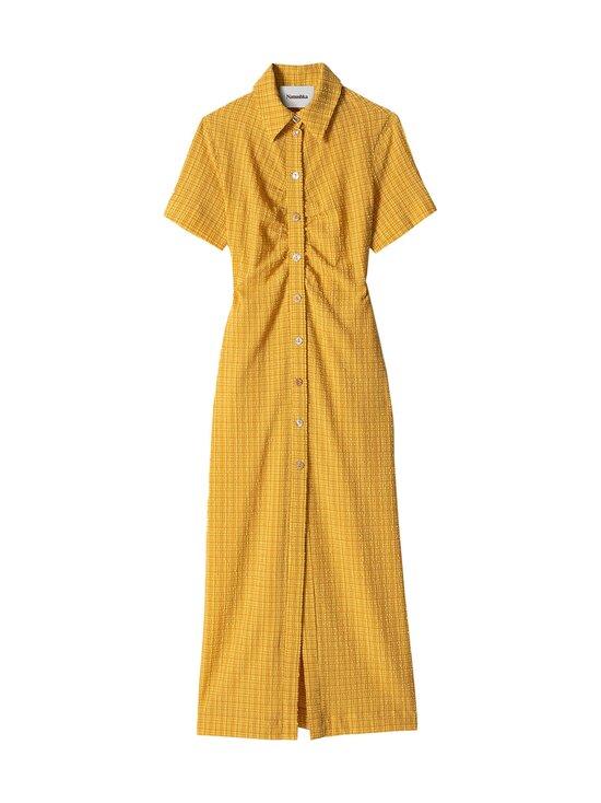 Nanushka - Sabri Dress -mekko - YELLOW CHECK   Stockmann - photo 1