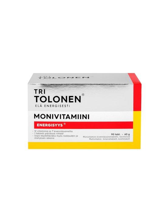 Tri Tolonen - Monivitamiini-ravintolisä 90 tabl./60 g | Stockmann - photo 1