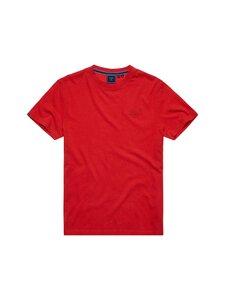 Superdry - Vintage Logo Emb Tee -paita - 5XD WORK RED MARL | Stockmann