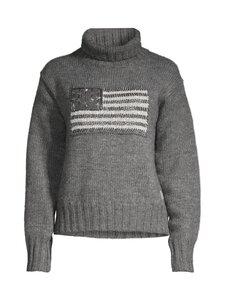 Polo Ralph Lauren - Sweater Roll Neck Flag -neule - GREY MU   Stockmann