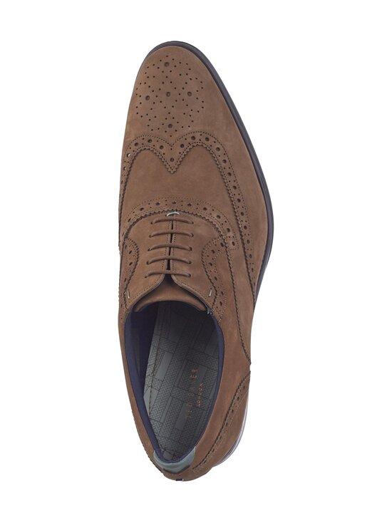 Ted Baker London - Pellan Nubuck Brogue Shoe -nahkakengät - 28 TAUPE | Stockmann - photo 2