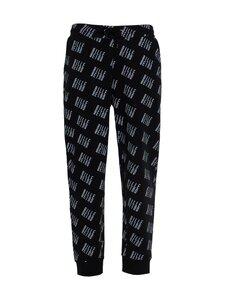 BILLEBEINO - Allover Sweatpants -collegehousut - 99 BLACK | Stockmann