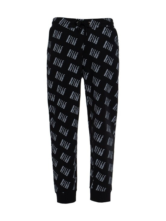 BILLEBEINO - Allover Sweatpants -collegehousut - 99 BLACK | Stockmann - photo 1