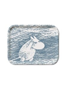 Moomin - Lumituisku-tarjotin 20 x 27 cm - BLUE | Stockmann