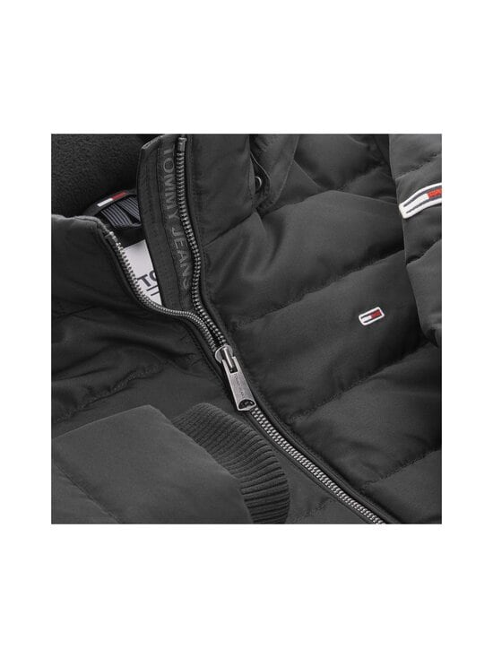 Tommy Jeans - TJW Quilted Down Coat -untuvatakki - BDS BLACK | Stockmann - photo 4