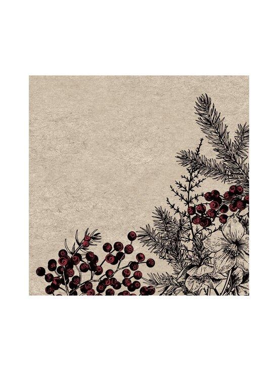Paper+Design - Botanical Xmas -servetti 33 x 33 cm, 25 kpl - MULTI-COLOUR | Stockmann - photo 1