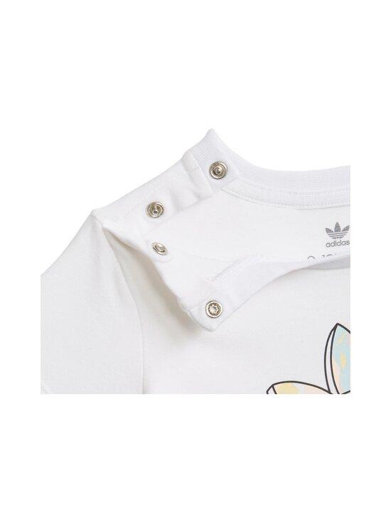 adidas Originals - TEE DRESS SET -legginsit ja T-paita - WHITE | Stockmann - photo 7