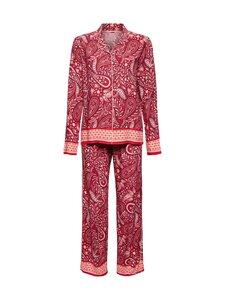 Esprit - Lenzing EcoVero -pyjamasetti - 612 DARK RED 3 | Stockmann