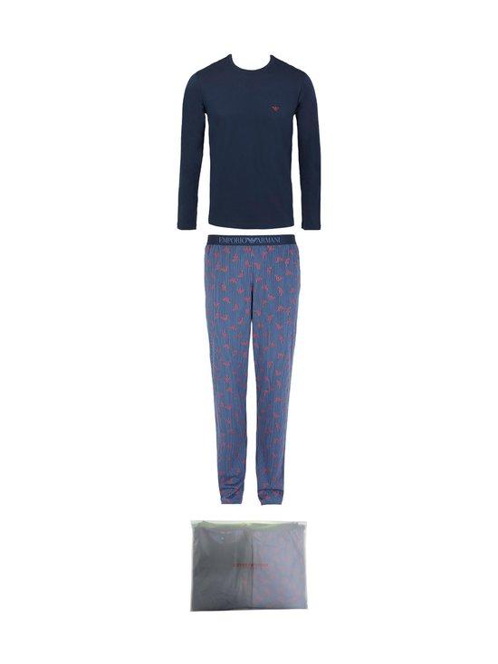 Emporio Armani - Knit Pyjamas Set Eagle -pyjama - 69735 RIGHE+AQUILE | Stockmann - photo 1