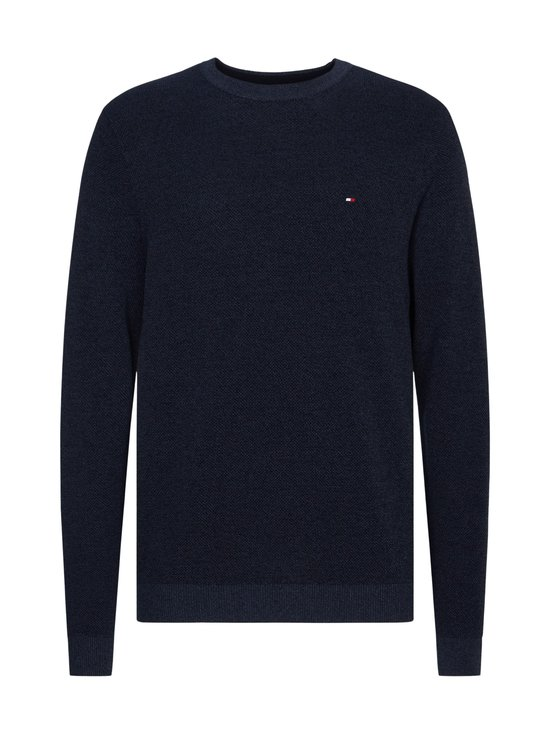 Tommy Hilfiger - Mouline Structure Crew Neck -paita - DW5 DESERT SKY | Stockmann - photo 1