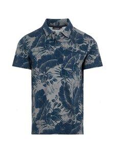 J.Lindeberg - Brand Printed Polo Shirt -pikeepaita - 6855 JL NAVY | Stockmann
