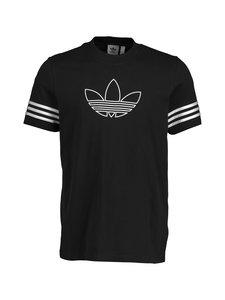 adidas Originals - Outline Tee -paita - BLACK   Stockmann