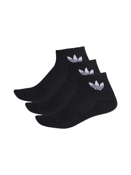 adidas Originals - Mid Ankle Sock -sukat - BLACK   Stockmann - photo 1