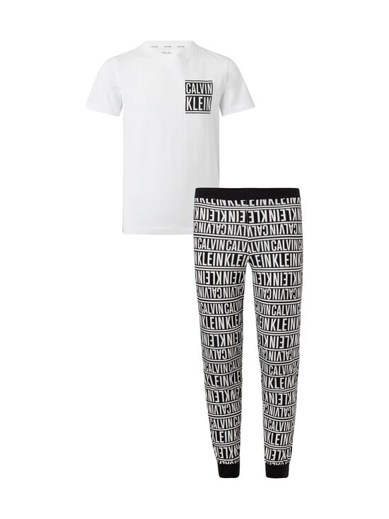 Calvin Klein Kids - Pyjama - 0WZ PVHWHITEW/LOGOSTRIPEBLACKAOP   Stockmann - photo 1