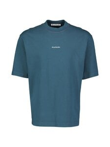 Acne Studios - Reverse-Logo T-Shirt -paita - DEEP PETROL | Stockmann