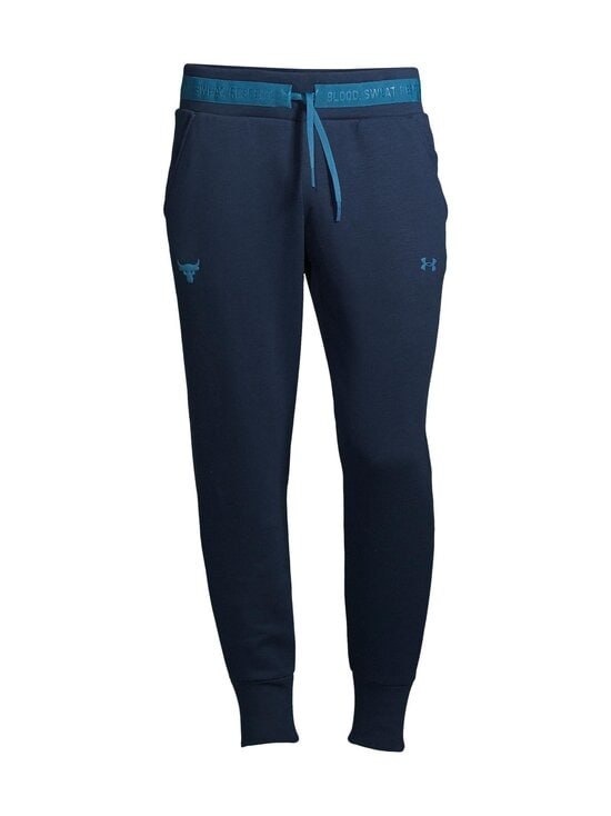 Under Armour - Project Rock Charged Cotton® Fleece Pant -collegehousut - 408 ACADEMY / / ACADIA | Stockmann - photo 1
