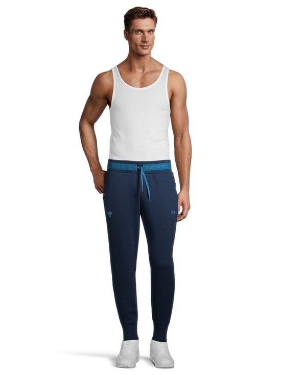 Under Armour - Project Rock Charged Cotton® Fleece Pant -collegehousut - 408 ACADEMY / / ACADIA | Stockmann - photo 3