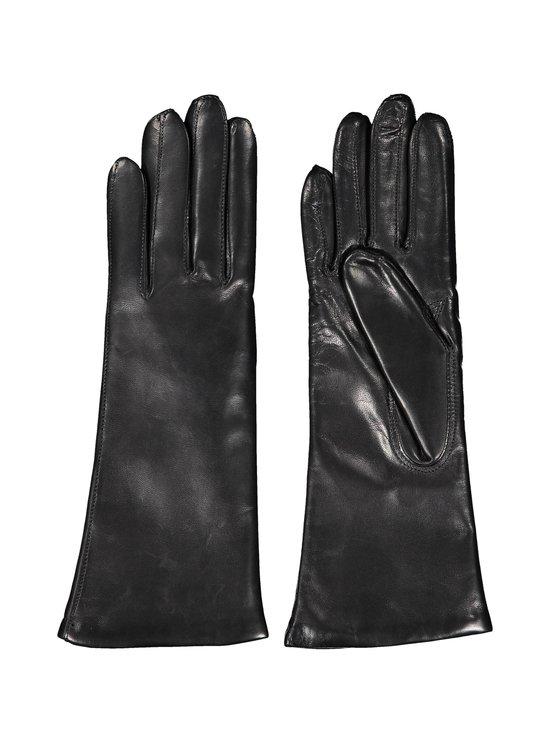 Hestra - Piqué Cashmere -nahkakäsineet - 100 BLACK | Stockmann - photo 2