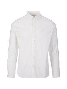 Knowledge Cotton Apparel - Elder-kauluspaita - 1010 BRIGHT WHITE | Stockmann