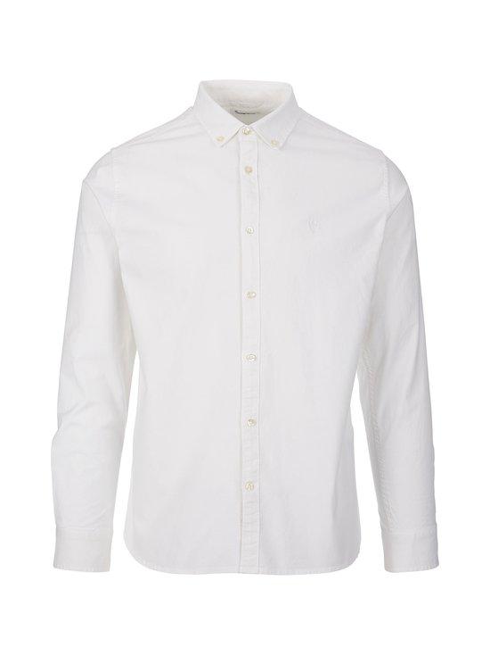 Knowledge Cotton Apparel - Elder-kauluspaita - 1010 BRIGHT WHITE | Stockmann - photo 1