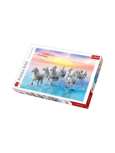 Palapeli 500, Valkeat hevoset