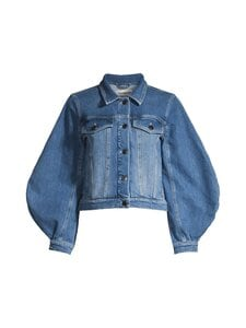 Tomorrow - Kersee Puff Bubble Sleeve -farkkutakki - 51 DENIM BLUE | Stockmann