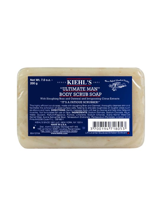 Kiehl's - Ultimate Man Body Scrub Soap -kuoriva saippua 200 g | Stockmann - photo 2