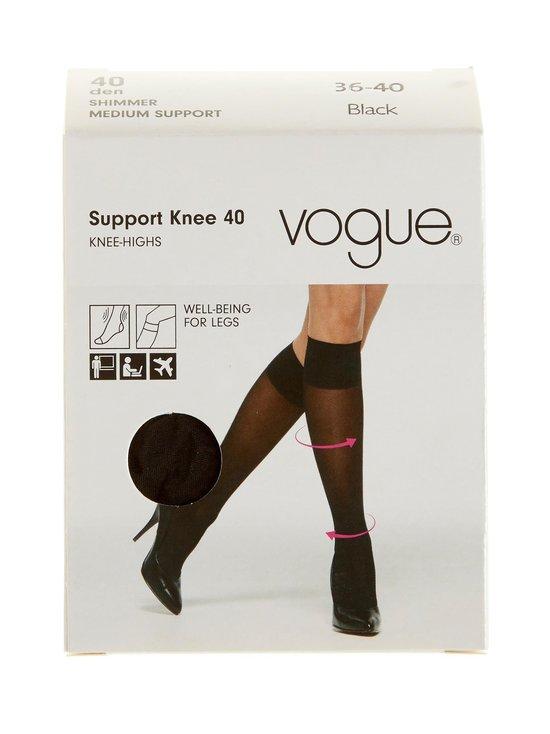 Vogue - Support 40 den -tukipolvisukat - BLACK (MUSTA)   Stockmann - photo 1