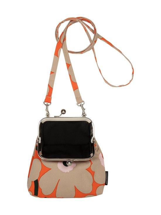 Roosa Mini Unikko -laukku