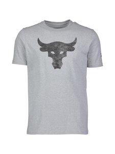 Under Armour - Projeckt Rock Brahma Bull -paita - 035 STEEL LIGHT HEATHER / / BLACK | Stockmann