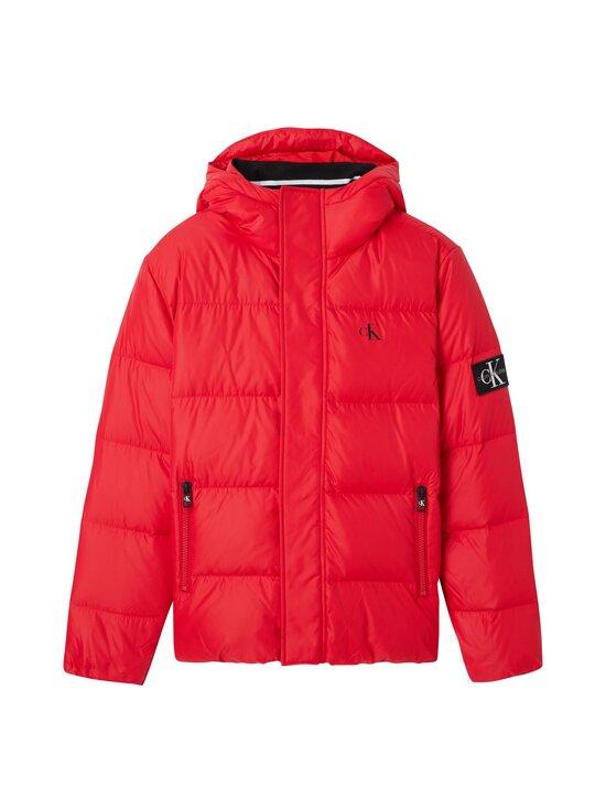 Calvin Klein Jeans - Hooded Down Puffer Jacket -untuvatakki - XME RED HOT | Stockmann - photo 1