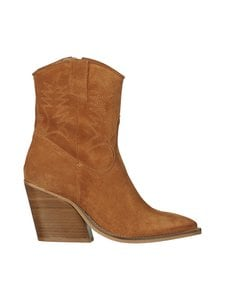 PAVEMENT - Abbie Western Boot -mokkanahkanilkkurit - 255 TAN SUEDE | Stockmann