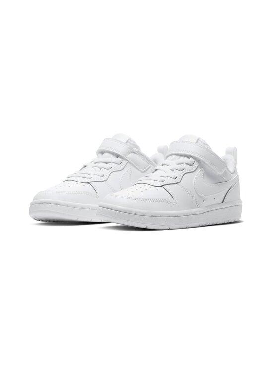 Nike - Court Borough Low 2 -sneakerit - 100 WHITE/WHITE-WHITE | Stockmann - photo 5