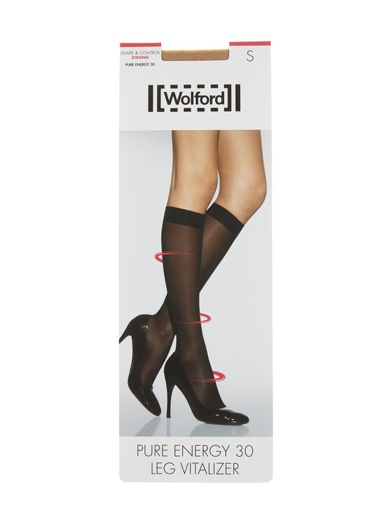 Wolford - Pure Energy 30 den Leg Vitalizer -polvisukat - GOBI | Stockmann - photo 1