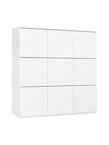 Lundia - Fuuga-kaappi 100 x 96 x 35 cm - VALKOINEN | Stockmann