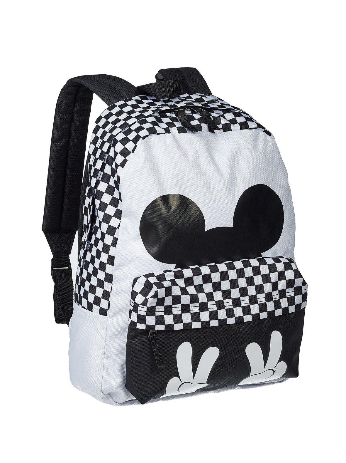 White Black (mustavalkoinen) Vans x Disney Checkerboard Mickey Realm ... 7931ed5d46