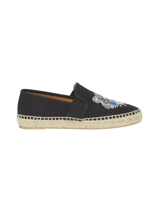Kenzo - Tiger-espadrillot - 99 - CANVAS TIGER HEAD EMBROIDERY - BLACK | Stockmann - photo 1