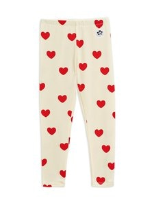 Mini Rodini - Hearts-leggingsit - OFFWHITE | Stockmann