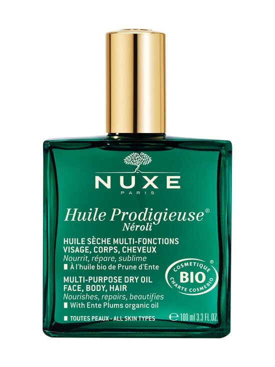 Nuxe - Huile Prodigieuse BIO NÉROLI Multi-Purpose Dry Oil, Face, Body, Hair -kuivaöljy 100 ml - NOCOL | Stockmann - photo 1