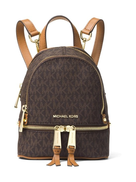 Michael Michael Kors - Rhea Mini Backpack -reppu - BROWN PATTERN | Stockmann - photo 1