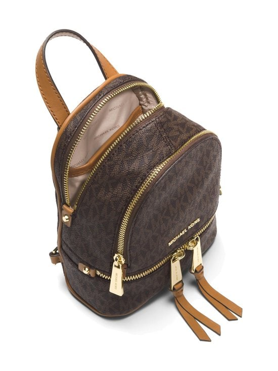 Michael Michael Kors - Rhea Mini Backpack -reppu - BROWN PATTERN | Stockmann - photo 2
