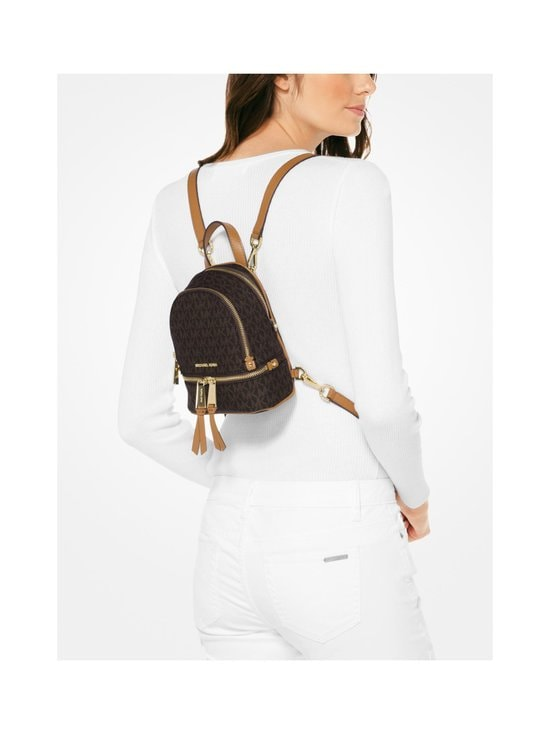 Michael Michael Kors - Rhea Mini Backpack -reppu - BROWN PATTERN | Stockmann - photo 3